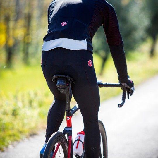 Castelli MORTIROLLO V Fahrrad Winterjacke schwarz/rot 3