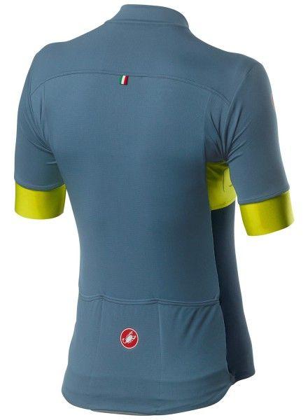 Castelli PROLOGO VI Radtrikot kurzarm blau/grün 3