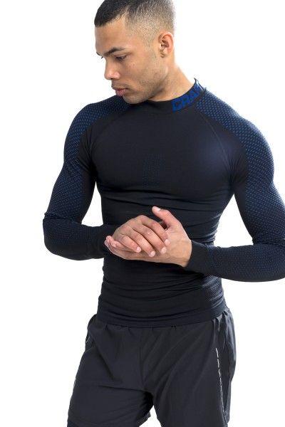 craft warm intensity langarm unterhemd schwarz blau 3