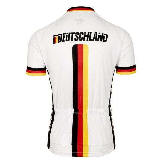 Deutschland Nationalteam 2020 Radtrikot kurzarm 3