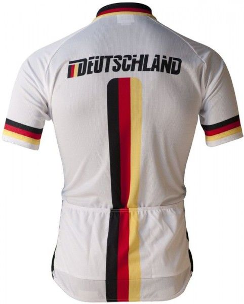 DEUTSCHLAND (BDR) 2019 Kurzarmtrikot (langer Reißverschluss) - BioRacer Radsport-National-Team Größe XL (5)
