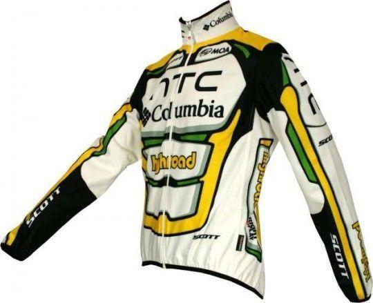Columbia 2010 Nalini Radsport-Profi-Team - Radsport-Winterjacke