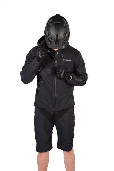 Endura MT500 Fahrrad Regenjacke schwarz 3