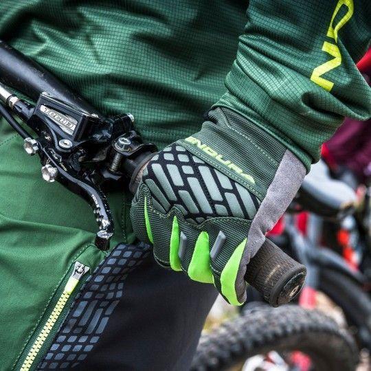 Endura MT500 II LTD MTB Handschuhe langfinger grün 3