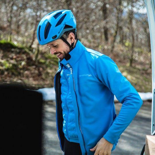 Endura PRO SL THERMO Fahrrad Winterjacke blau 3