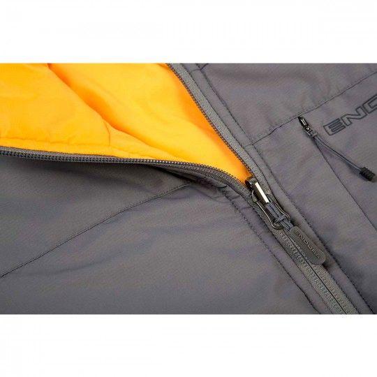 Endura Urban FlipJak II Isolations-Wendejacke grau/orange 3