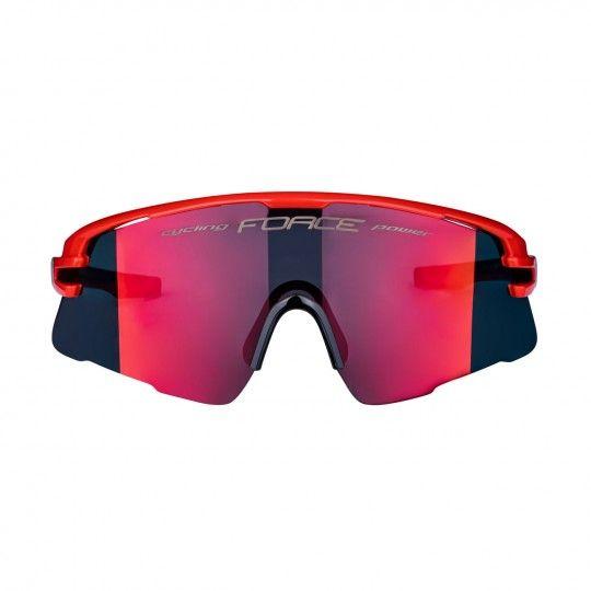 Force AMBIENT Rad- / Sportbrille rot/grau 3
