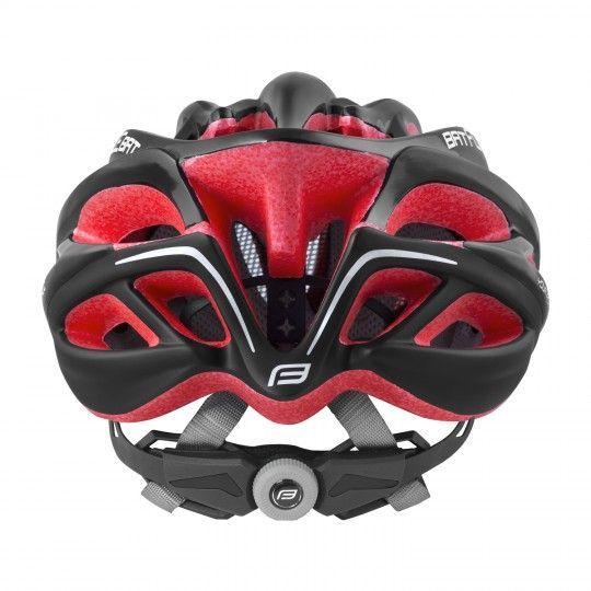 Force BAT Fahrradhelm schwarz/rot 3