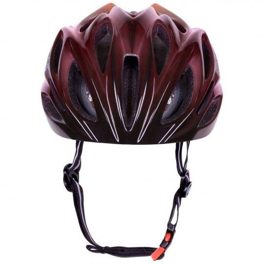 Force BULL HUE Fahrradhelm schwarz/rot 3