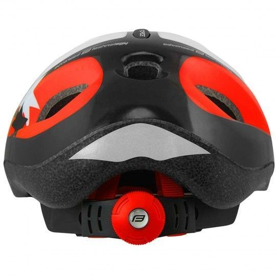 Force LARK children cycling helmet black/red/white (902214)