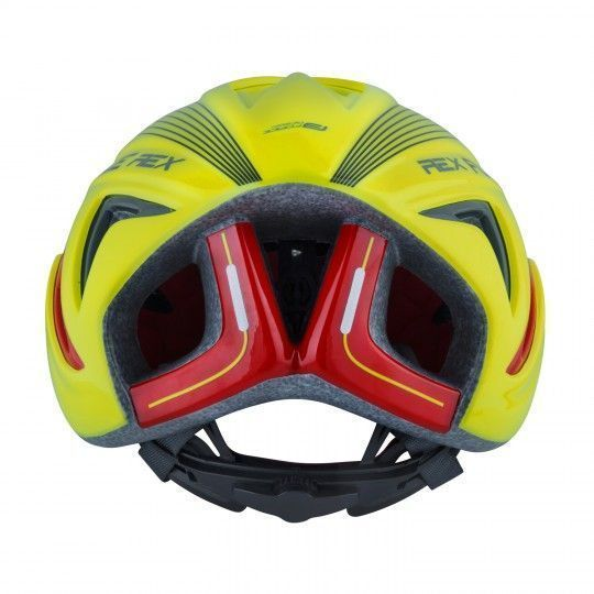 Force REX Fahrradhelm neongelb 3