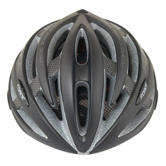 Force ROAD Fahrradhelm schwarz matt 3