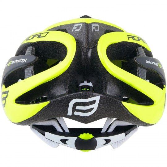 Force ROAD Fahrradhelm neon gelb 3