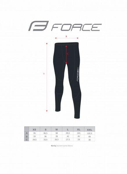 Pantalón con tirantes de ciclismo Z68 (negro, 90040) - Force
