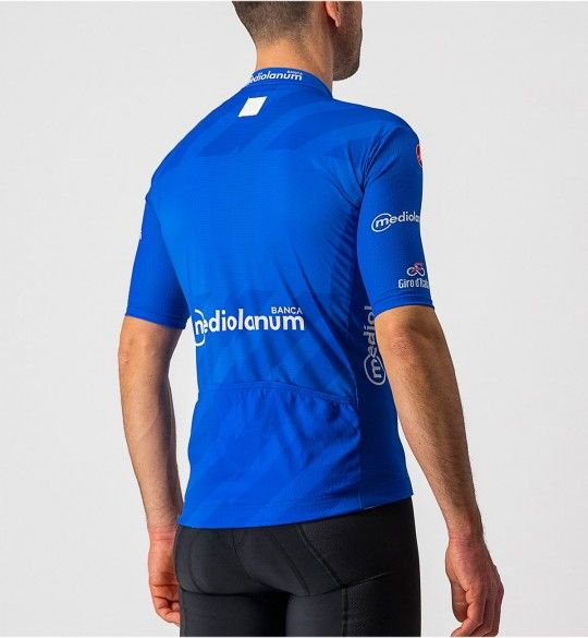Giro d'Italia 2021 MAGLIA AZZURRO (Blau) Radtrikot kurzarm 3