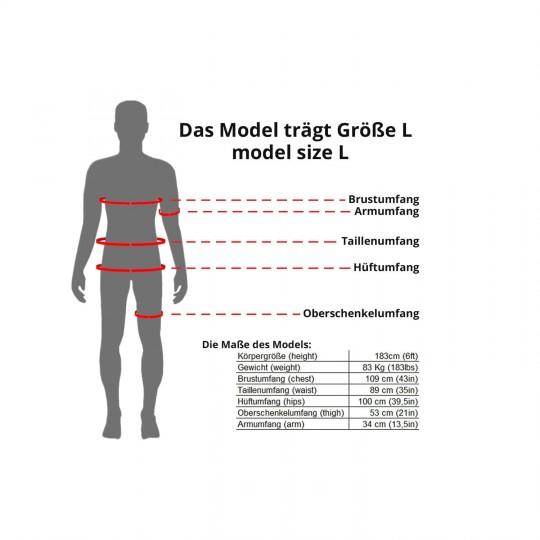 Größenhinweis Trikotexpress Model L