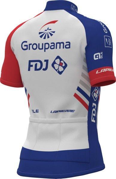 Groupama-FDJ 2018 Kurzarmtrikot 2