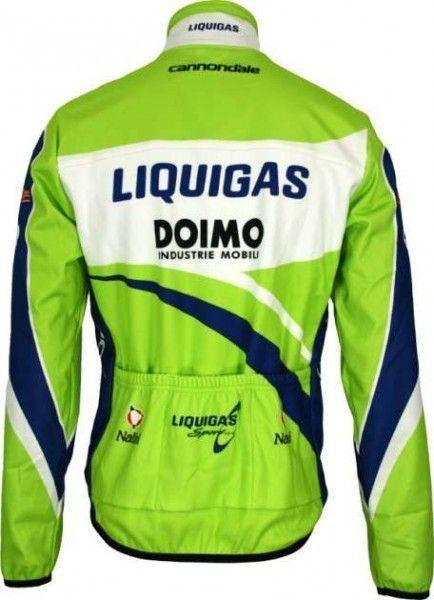 Liquigas 2009 Nalini Radsport-Profi-Team - Radsport-Winterjacke Größe M (3)
