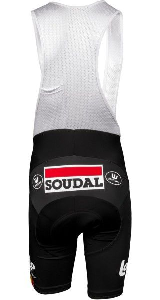 LOTTO SOUDAL 2018 tour edition cycling bib shorts - Vermarc professional cycling team