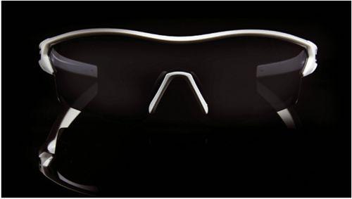 Scott LEAP Radbrille weiß schwarz 3