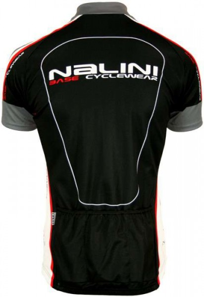 Nalini Base Radsport Kurzarmtrikot ARGENTITE schwarz