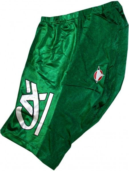 Credit Agricole 2005 cycling set for kids (jersey, trousers, headband) - Nalini professional cycling team