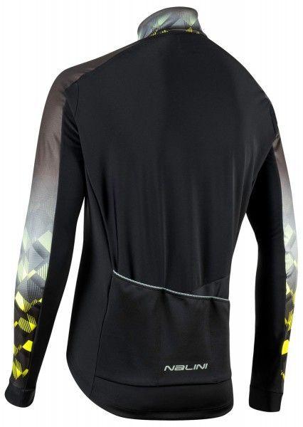 Nalini Criterium Jkt Fahrrad Winterjacke schwarz/neongelb 2