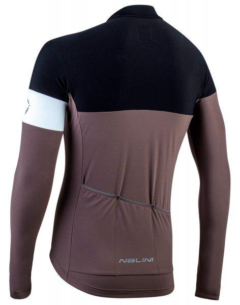 Maillot ciclista manga larga Pro Corsa Jersey (marrón, I20-4600) - Nalini