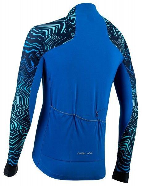 Nalini Pro Gara Jersey Fahrrad Langarmtrikot blau 2