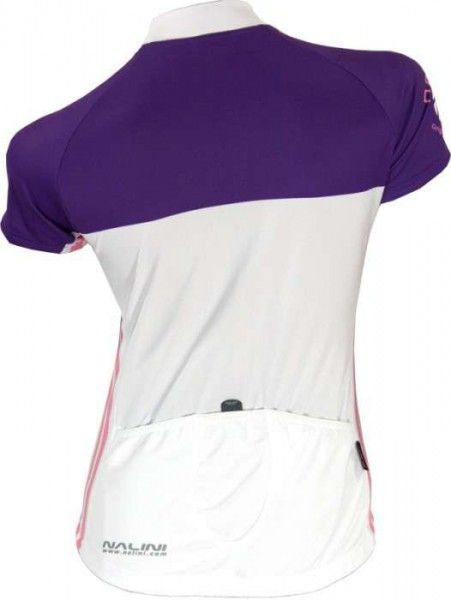 NALINI PRO Damen-Kurzarmtrikot MARGHERITA violett
