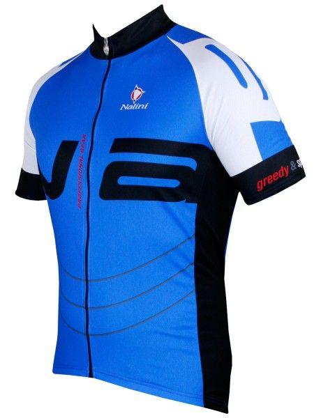 Nalini THUNDER Fahrrad-Kurzarmtrikot blau 2