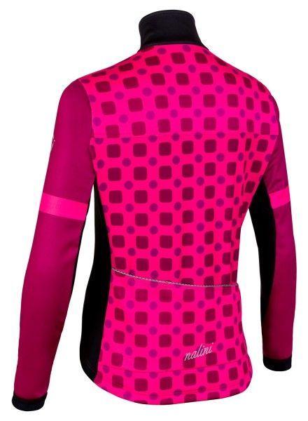 Nalini WS Lady Jkt 2.0 Fahrrad Damen Winterjacke pink/schwarz 3
