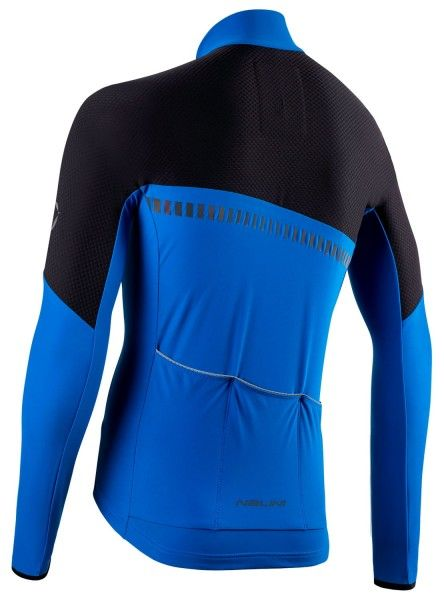 Nalini XWarm Jersey Fahrrad Langarmtrikot schwarz/blau 2