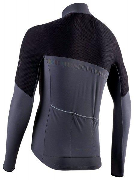 Nalini XWarm Jersey Fahrrad Langarmtrikot schwarz/grau 2