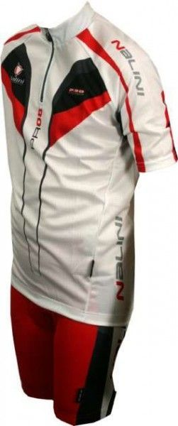 Nalini pro cycling jersey for kids COYOTE white