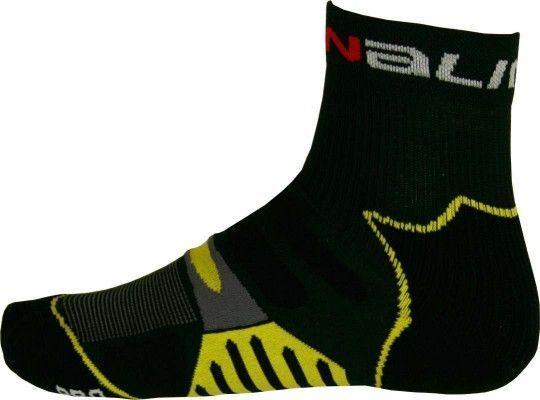 NALINI PRO Radsport-Coolmax-Socken NICOTANIA gelb L-XL (42-45 / 8-11.5)