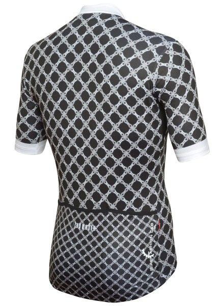RH+ Chain Fashion Lab Radtrikot kurzarm schwarz/weiß 3