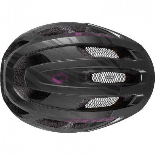 Scott SUPRA Fahrradhelm Damen schwarz lila 3