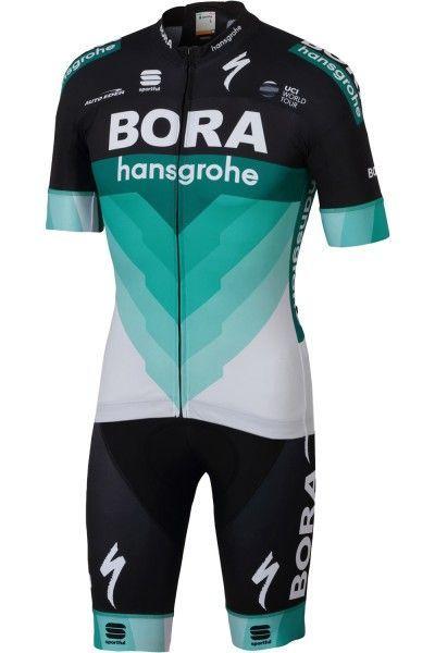 BORA-hansgrohe 2018 Radtrikot kurzarm (langer Reißverschluss) - Sportful Radsport-Profi-Team Größe XL (5)