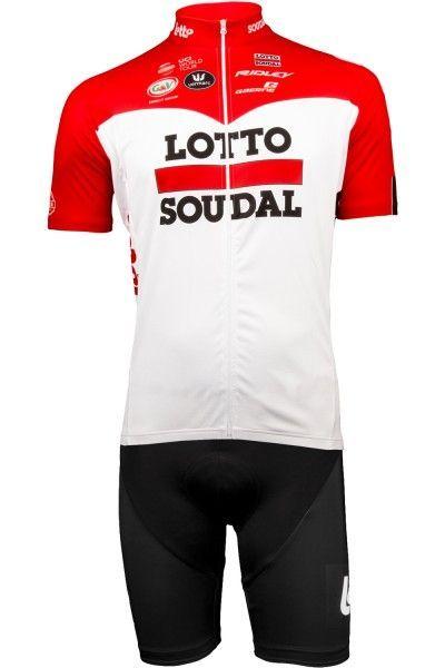 LOTTO SOUDAL 2018 Radtrikot kurzarm (langer Reißverschluss) - Vermarc Radsport-Profi-Team Größe M (3)