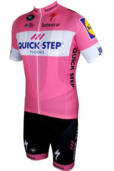 SET Quick-Step Floors 2018 Giro Special Edition rosa 1