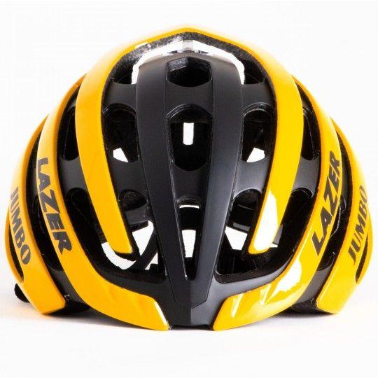 Team JUMBO - Visma 2019 Fahrradhelm gelb/schwarz - Lazer Z1 - 3