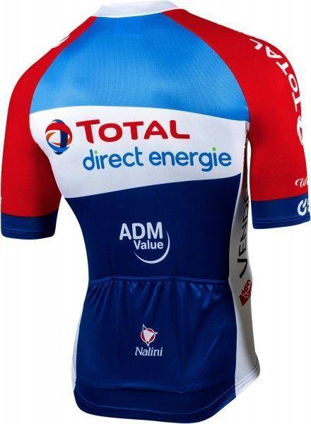 Total Direct Energie 2020 Radsport Kurzarmtrikot 2