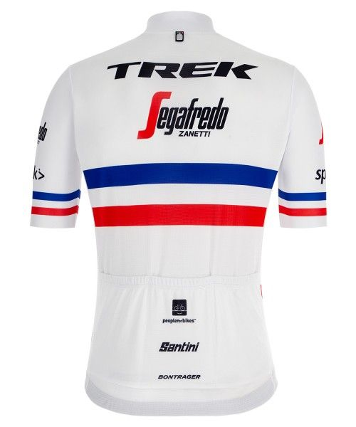 TREK- SEGAFREDO französischer Meister 2019 Radtrikot kurzarm 4