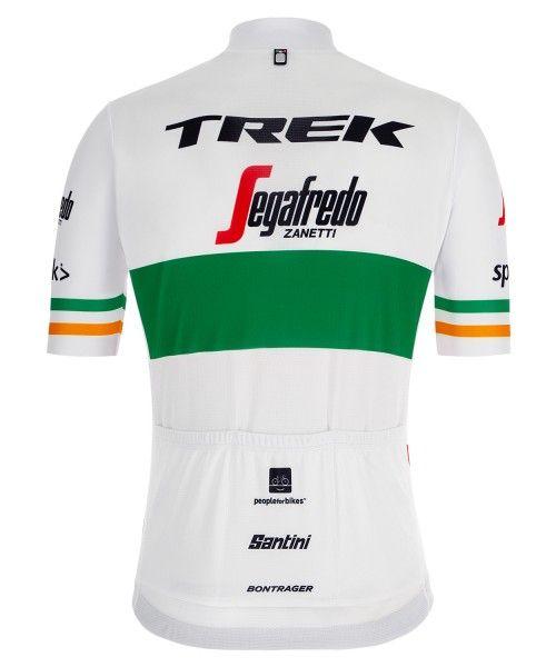 Maillot ciclista manga corta TREK - SEGAFREDO campeón de Irlanda 2019 (relámpago completo) - Santini