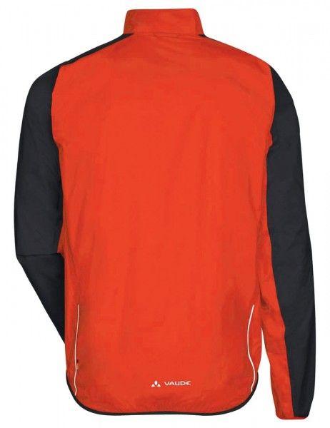 Chaqueta de ciclismo impermeable DROP JACKET III (naranja-rojo/negro) - VAUDE (mars red)
