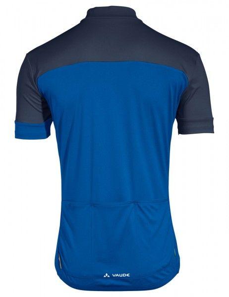 vaude men mossano t-shirt V Radtrikot kurzarm blau 3