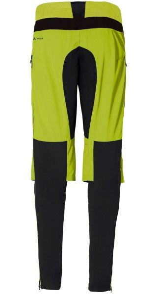 Vaude VIRT Softshell Pants II Radhose lang chute green 3