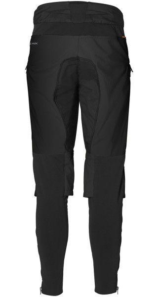 Vaude VIRT Softshell Pants II Radhose lang schwarz 3