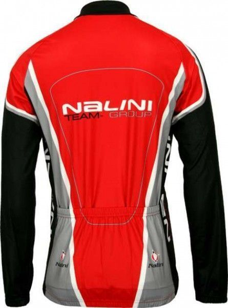 Nalini PRO Special AUDINO long sleeve jersey for kids red